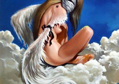 Carantina ingerilor pictura Sergiu Grapa